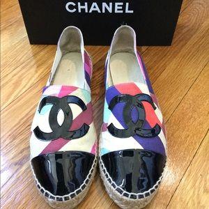 Chanel 1C Multicolored Espadrilles